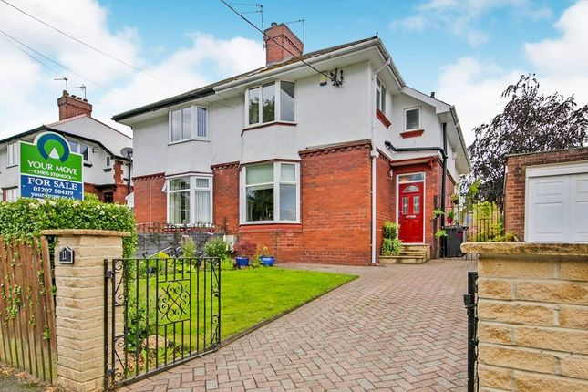 Thumbnail Semi-detached house for sale in Kings Road, Consett