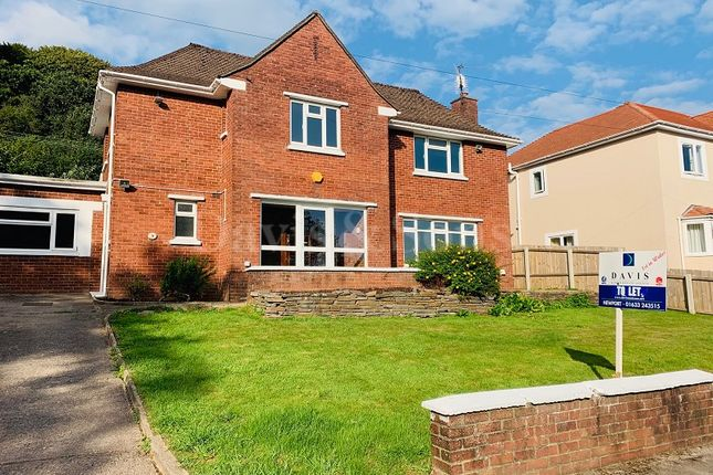 Thumbnail Detached house to rent in Woodland Drive, Rogerstone, Newport.