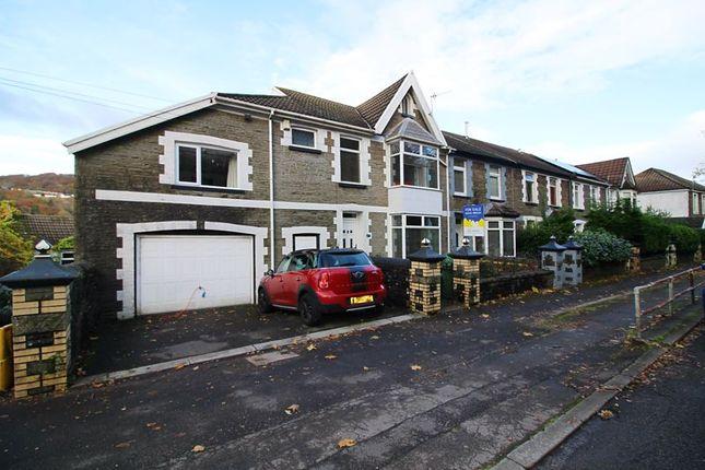 Thumbnail End terrace house for sale in Merthyr Road, Pontypridd