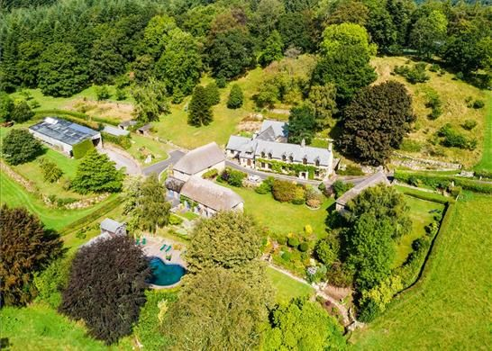 Thumbnail Detached house for sale in Lustleigh, Dartmoor, Devon