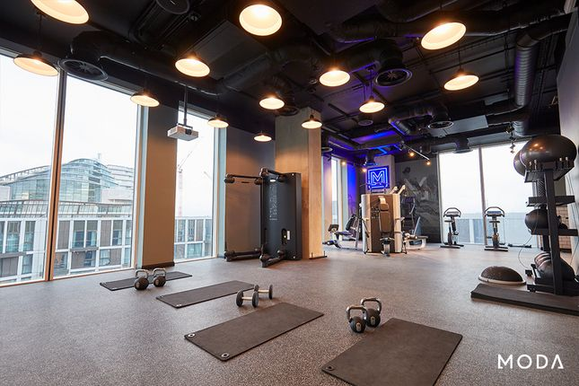 Gym Studio of Angel Gardens, Manchester M4
