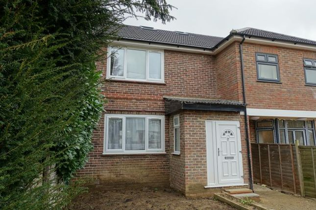 Thumbnail 4 bed semi-detached house to rent in Stuart Crescent, Reigate