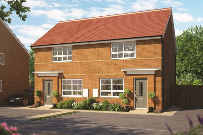 """Thumbnail Semi-detached house for sale in """"Roseberry"""" at Market Place, Chippenham"""