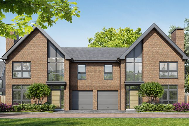 "Thumbnail Property for sale in ""Elmswell - Semi Detached"" at Chieftain Road, Longcross, Chertsey"