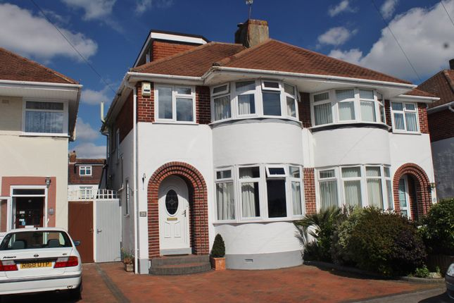 Thumbnail Semi-detached house for sale in Heaton Road, Gosport