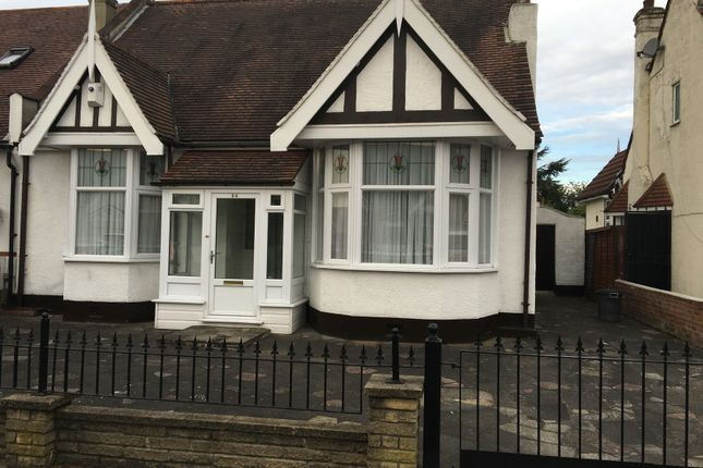 Thumbnail Semi-detached bungalow to rent in Gyllyngdune Gardens, Ilford