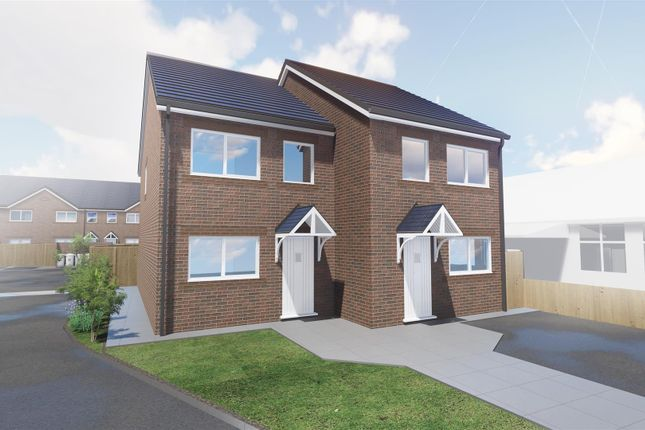 Thumbnail Semi-detached house for sale in Barnston Lane, Moreton, Wirral