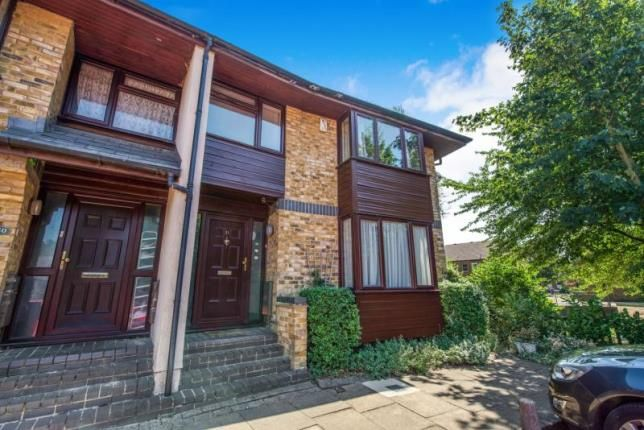 Thumbnail End terrace house for sale in Manor Close, London