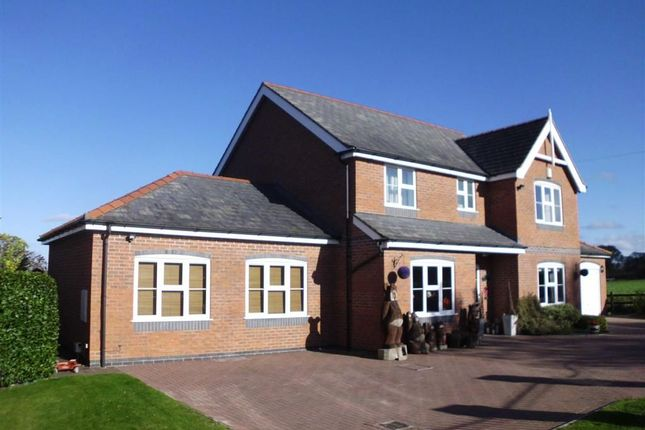 Thumbnail Detached house for sale in Bear House, Crew Green, Powys