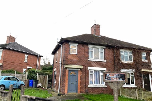Front of Abbots Road, Abbey Hulton, Stoke-On-Trent, Staffordshire ST2