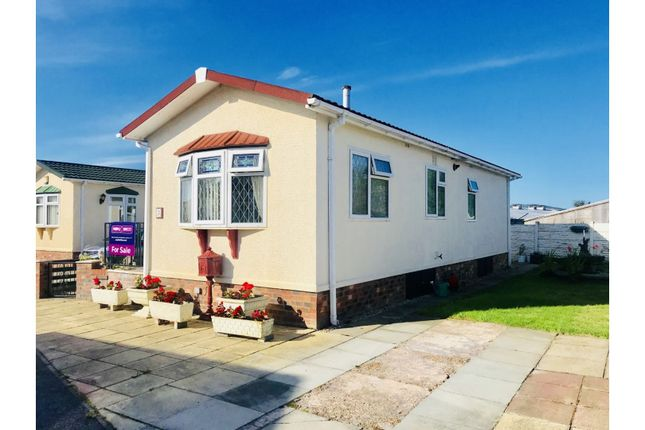 Thumbnail Mobile/park home for sale in Little Paddock Residential Site, Rhyl
