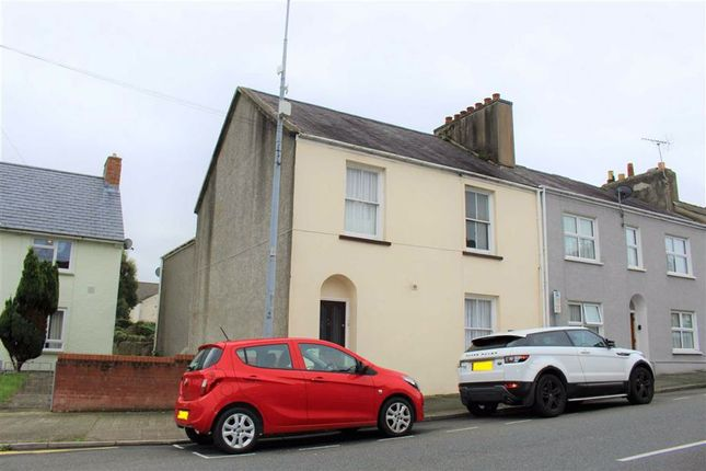Thumbnail End terrace house for sale in Laws Street, Pembroke Dock