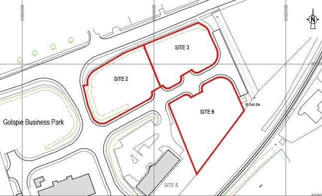 Thumbnail Land for sale in Sites 2, 3 & 9, Golspie Business Park, Golspie, Caithness And Sutherland