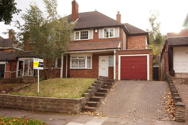 Thumbnail Semi-detached house for sale in Cherry Orchard Road, Handsworth Wood, Birmingham