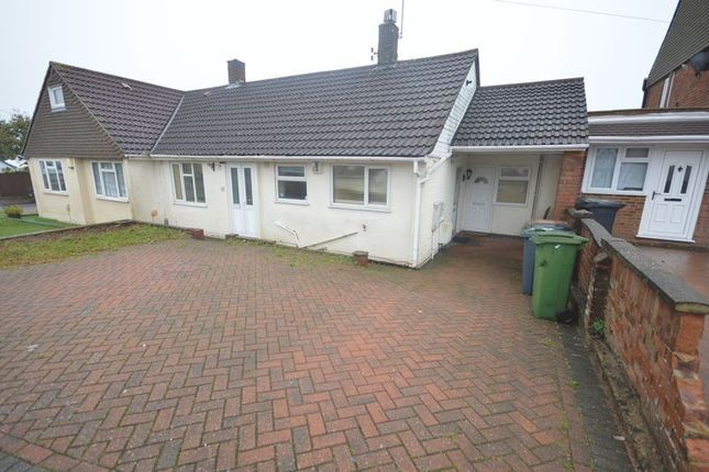 Thumbnail Semi-detached bungalow to rent in Stoneygate Road, Leagrave, Luton