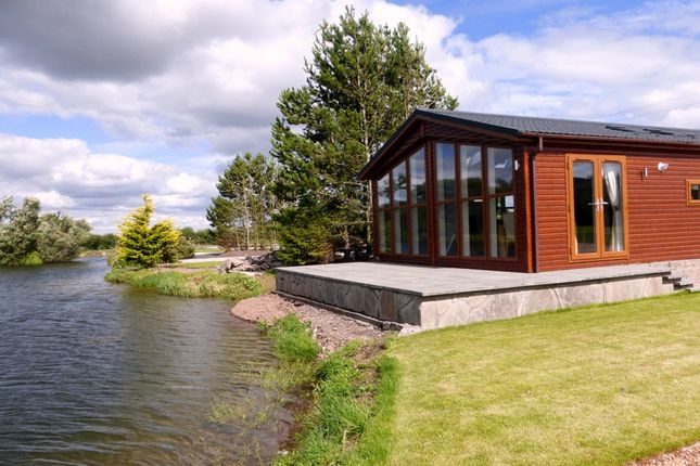 Thumbnail Detached bungalow for sale in Lochmanor Luxury Lodges, Dunning
