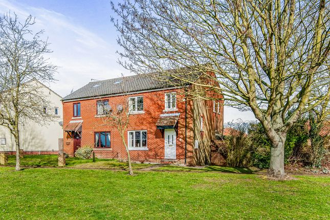 Thumbnail Semi-detached house for sale in Church Meadow, Rickinghall, Diss