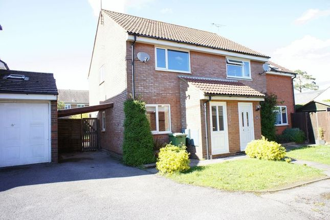 Thumbnail Semi-detached house to rent in Gaskell Close, Holybourne, Alton