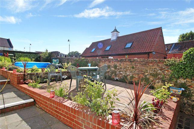 Communal Garden of Consort House, Brewery Lane, Wymondham, Norfolk NR18
