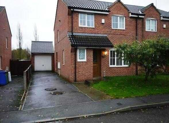 Thumbnail Semi-detached house to rent in Frecheville Street, Staveley, Chesterfield