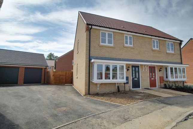Thumbnail Semi-detached house for sale in Wellington Way, Market Deeping, Peterborough