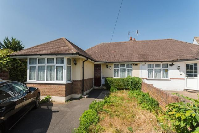 Thumbnail Semi-detached bungalow for sale in Waverley Close, Hayes, Middlesex