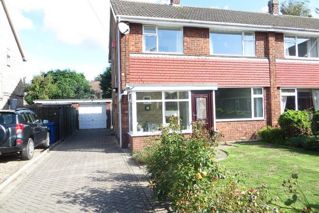 Thumbnail Semi-detached house to rent in Beechdale, Cottingham