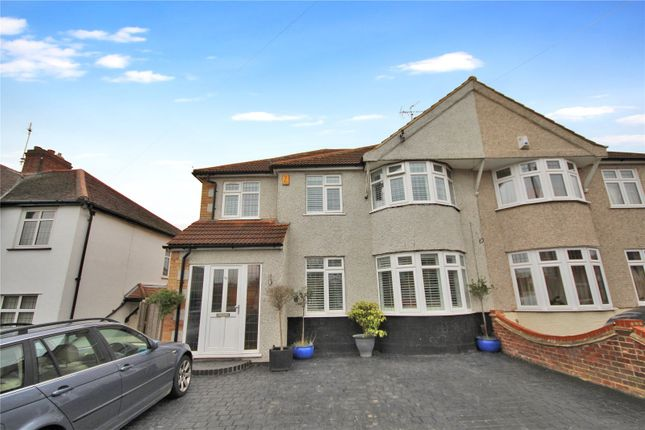 Thumbnail Semi-detached house for sale in Westwood Lane, South Welling, Kent