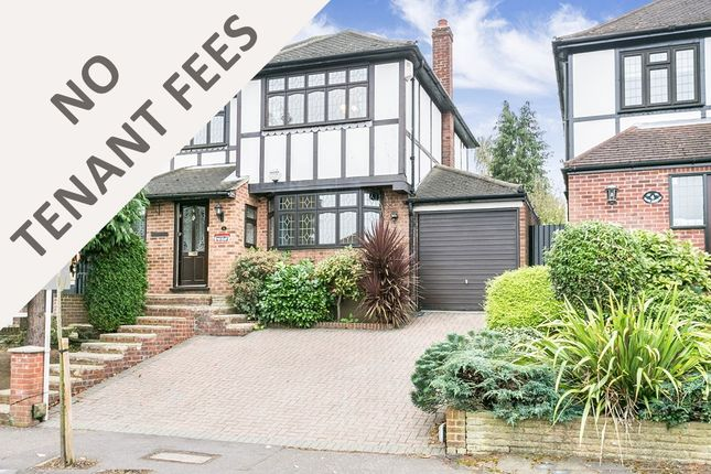 Thumbnail 3 bedroom detached house to rent in Dacre Gardens, Chigwell