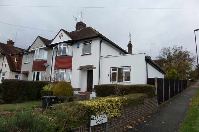 Thumbnail Semi-detached house to rent in St Andrews Road, Coulsdon, Surrey