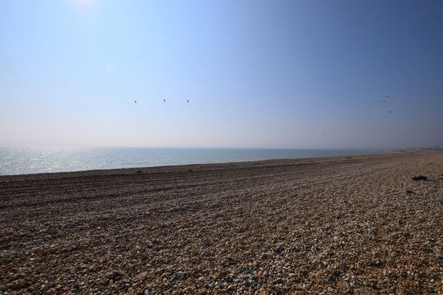 Beach/View of Coast Road, Pevensey Bay BN24