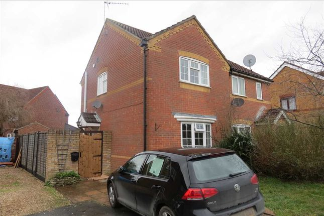 Thumbnail Semi-detached house to rent in Beechtree Close, Ruskington, Sleaford