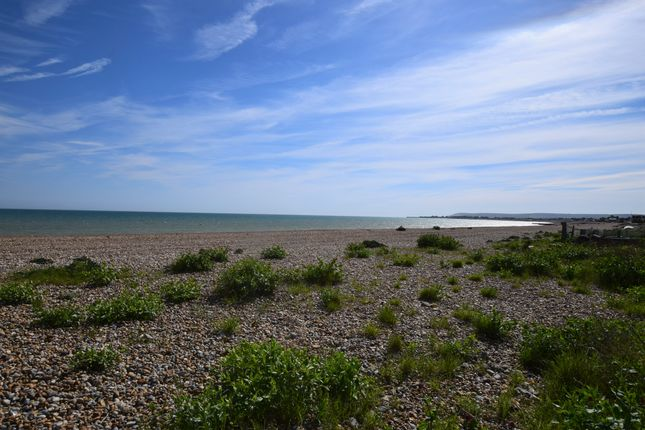 Beach & View of Coast Road, Pevensey Bay BN24