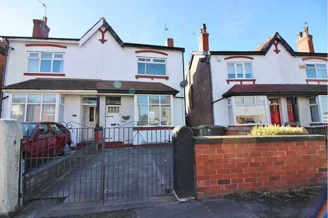 Thumbnail Semi-detached house to rent in Rufford Road, Southport
