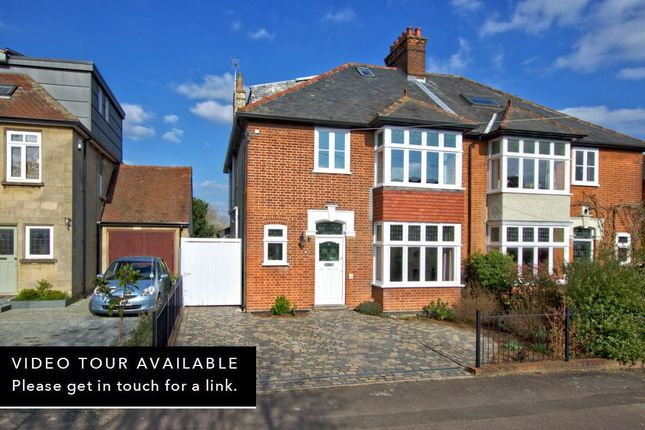 Thumbnail Semi-detached house for sale in Highworth Avenue, Cambridge