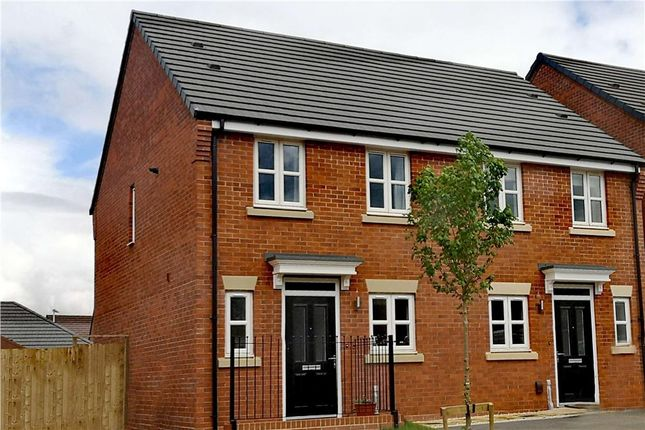 """Thumbnail Semi-detached house for sale in """"Beckford"""" at Olympus Avenue, Tachbrook Park, Warwick"""