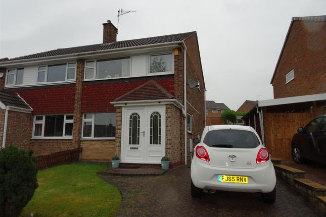 Thumbnail Semi-detached house for sale in Newstead Road South, Ilkeston