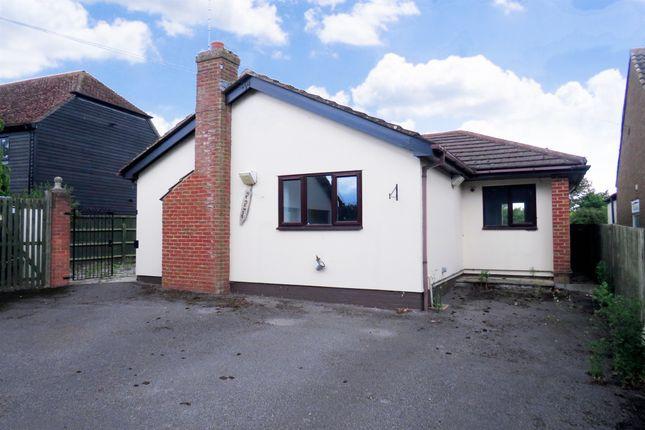 Thumbnail Detached bungalow for sale in Mill Road, Slapton, Leighton Buzzard