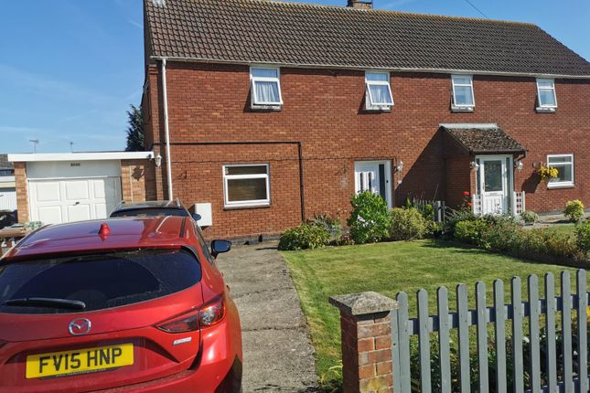 Thumbnail Semi-detached house for sale in Fulwell Avenue, Gretton, Corby
