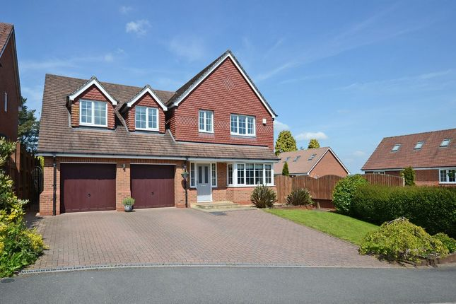 Thumbnail Detached house for sale in Jenner Grove, Stallington