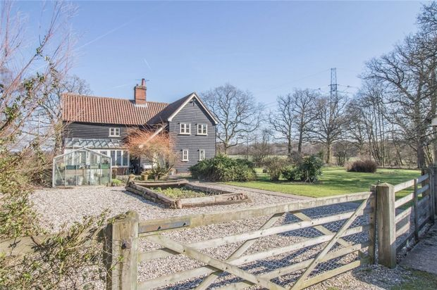 Thumbnail Detached house for sale in Pattiswick, Braintree, Essex