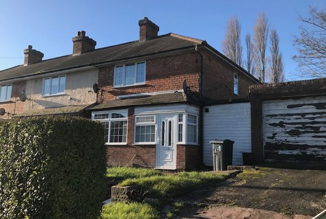 Thumbnail Terraced house to rent in Epping Grove, Birmingham