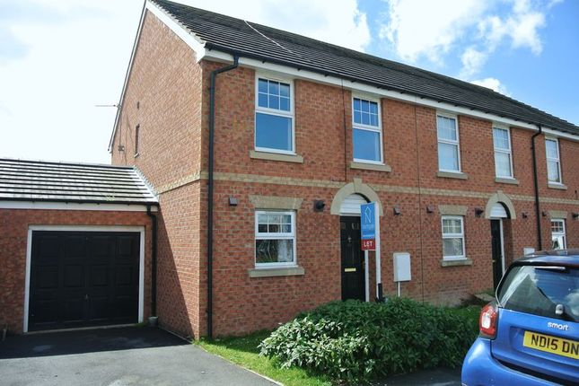 Thumbnail Semi-detached house for sale in Estoril Road South, Moorfields, Darlington