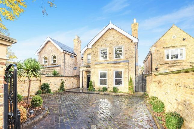 Thumbnail Detached house for sale in Palace Road, East Molesey, Surrey