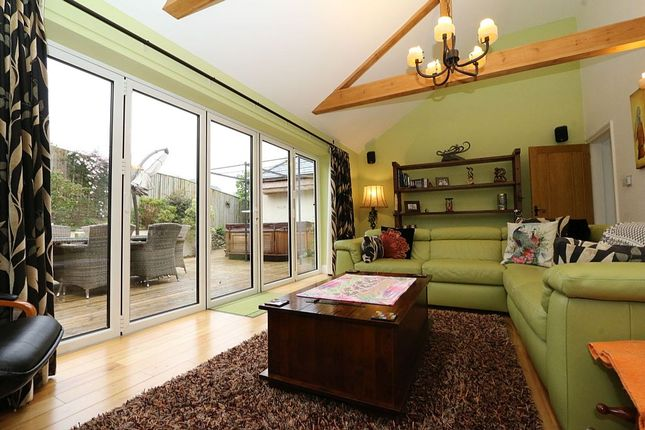 Thumbnail Detached house for sale in Woodlands, Llanerch Road, Llanfairfechan, Conwy