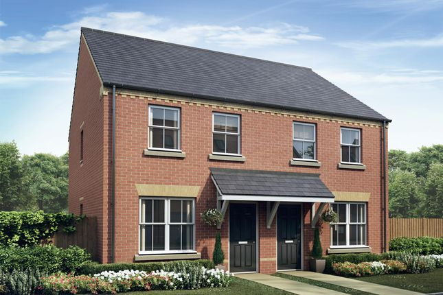 """Thumbnail Semi-detached house for sale in """"Pixham"""" at Fox Lane, Green Street, Kempsey, Worcester"""