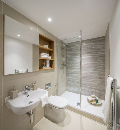 Thumbnail Flat for sale in Royal Crescent, Stanmore Place, London