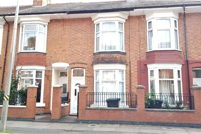 Thumbnail Terraced house to rent in Ellis Avenue, Belgrave, Leicester