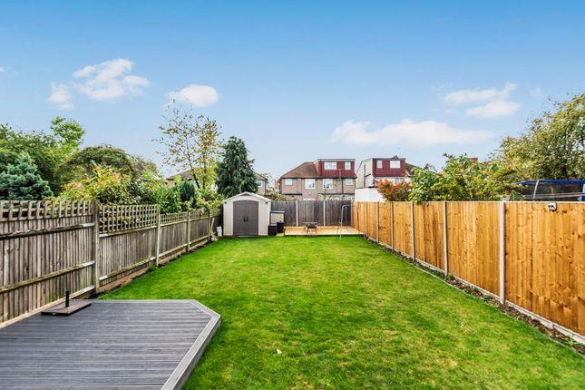 Garden of Uppingham Avenue, Stanmore HA7