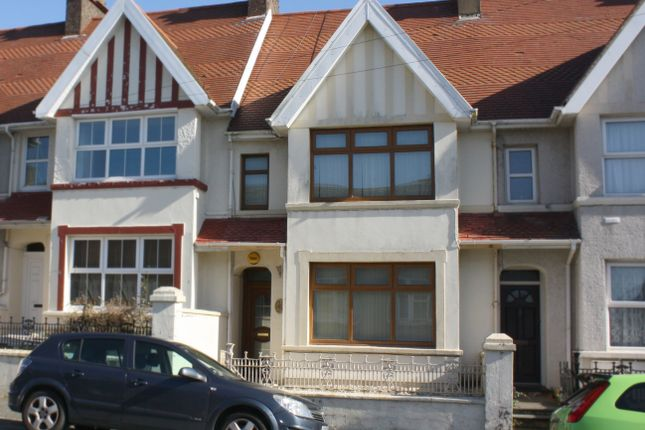 Thumbnail Terraced house to rent in Dartmouth Street, Milford Haven, Pembrokeshire